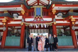 七五三 日枝神社